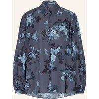 Iris Von Arnim Bluse Flora blau