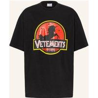 Vetements Oversized Shirt schwarz 2