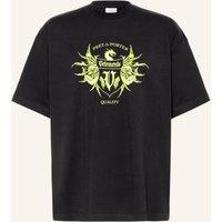 Vetements Oversized Shirt schwarz 5