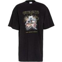 Vetements Oversized Shirt schwarz 6