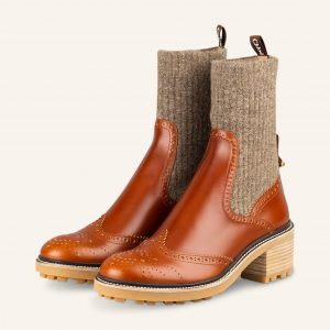 Chloe Boots braun