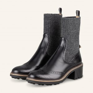 Chloe Boots schwarz