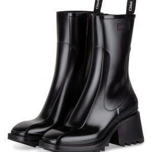 Chloe Gummi Boots Betty schwarz