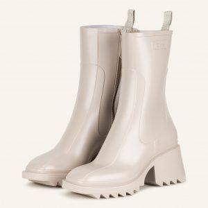 Chloe Gummi Boots Betty weiss